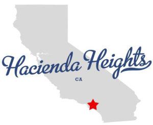Hacienda Heights Map